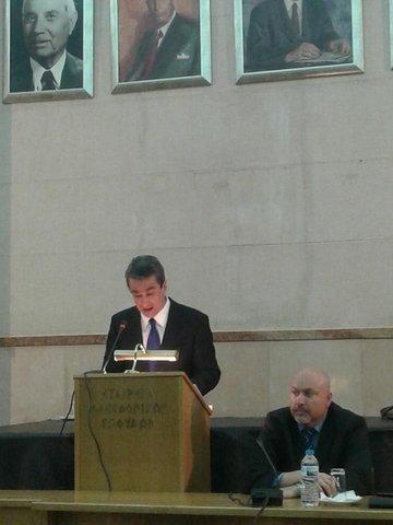 Παρουσία  του Α. Λοβέρδου σε παρουσίαση βιβλίου στη Θεσσαλονίκη