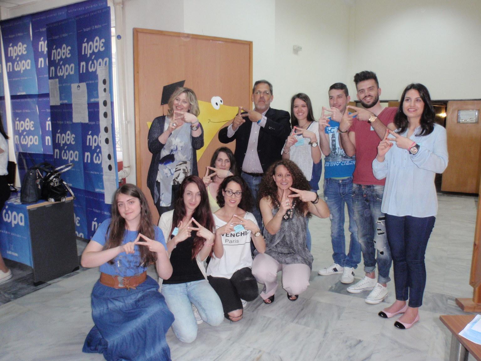 Ο συγγραφέας Βαγγέλης Ηλιόπουλος στην Παιδαγωγική Σχολή