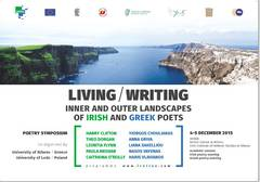 Συμπόσιο Ποίησης: Living/Writing, Inner and outer landscapes of Irish and Greek poets