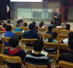 Επίσκεψη του ΥΦΥΠΠΕΘ Θεοδόση Πελεγρίνη σε Διαπολιτισμικά σχολεία