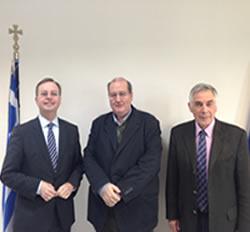 Συνάντηση του ΥΠ.Π.Ε.Θ. Νίκου Φίλη με τον υφυπουργό Παιδείας και Έρευνας της Γερμανίας Τόμας Ράχελ