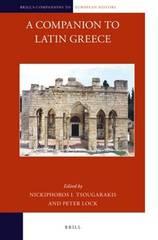 Κυκλοφόρησε ο συλλογικός τόμος: A Companion to Latin Greece