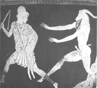 Ἐκ Βακχισμοῦ, Μαιναδισμοῦ, Φαλλισμοῦ ἄρχεσθαι & Καρναβαλισμοῦ, Παγανισμοῦ παύεσθαι