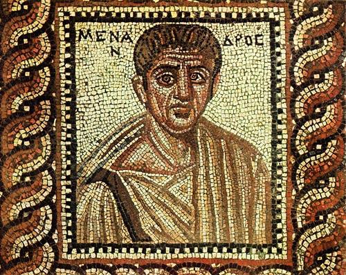 Το αρχαίο ελληνικό θέατρο στο YouTube: Μένανδρος