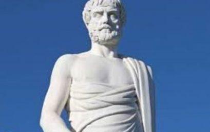 Ο Αριστοτέλης ως θεμελιωτής των Φυσικών Επιστημών – Εισαγωγή: Νίκος Κατσαρός