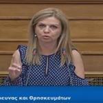 Μ. Τζούφη: Τομή το νομοσχέδιο του ΥΠΠΕΘ «Πανεπιστήμιο Ιωαννίνων, Ιόνιο Πανεπιστήμιο και άλλες διατάξεις»